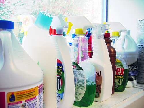 Household cleaning products often contain toxic chemicals | Credit: COURTESY BRITTNEY BUSH BOLLAY