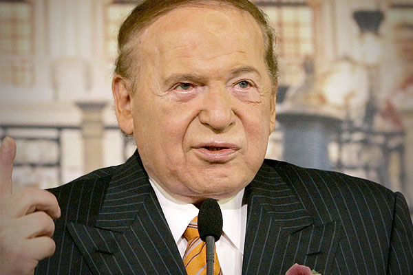 Sheldon Adelson | Credit: AP