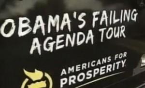 Americans for Prosperity's Obama's Failing Agenda Bus Tour.