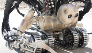 The BEAR Robot was developed by US-based Vecna Technologies | Credit: VECNA ROBOTICS