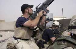 Blackwater operatives involved in a firefight in Najaf, April 4, 2004 | Credit: GERVASIO SANCHEZ/AP