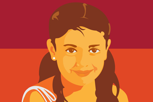 A graphic commemorating Brisenia Flores | Credit: PRESENTE.ORG