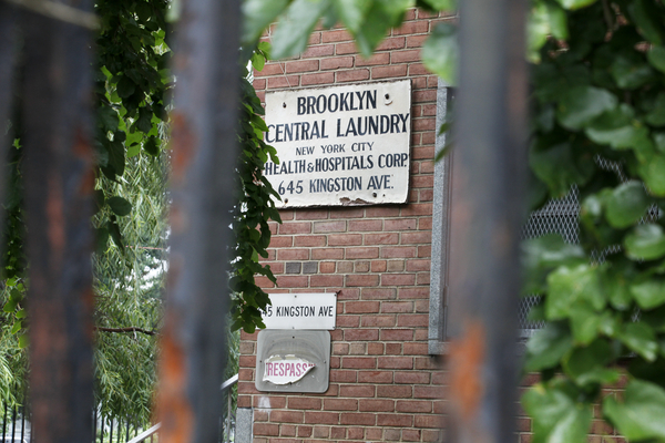 In 1998, Mayor Giuliani forced a third of the operations at the HHC's central laundry facility to be privatized, on the promise that his administration would study the cost impact of the move. | Credit: MARC FADER