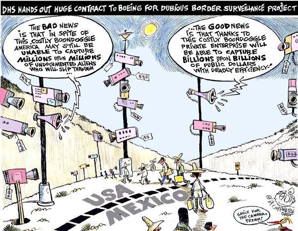 Cartoon by Khalil Bendib