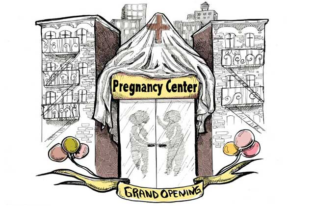 Grand opening: Pregnancy Center | Credit: COURTESY COLORLINES.COM/CRYSTAL CLARITY