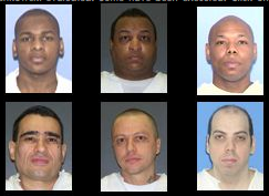 Six of the twenty-nine men on Texas death row evaluated by Dr. George Denkowski | Credit: TEXAS OBSERVER