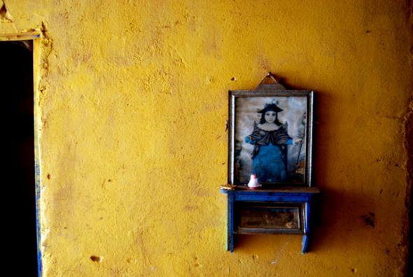 David de la Fuente's family home, which doubles as a local corner store. | Credit: AURA BOGADO