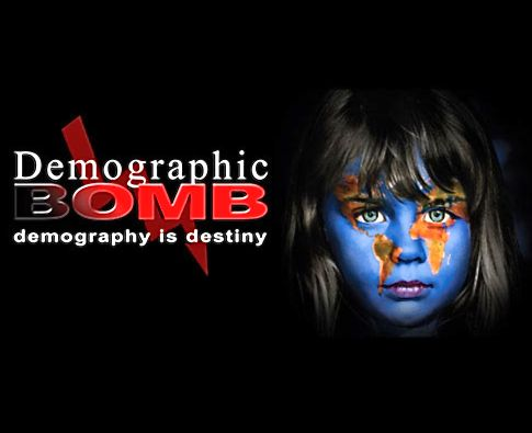 "Publicity image for the documentary ""Demographic Winter"" 