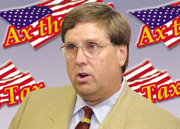 Doug Guetzloe, founder of Florida's registered TEA Party, is now being sued by the GOP   Credit: JACKSONVILLE OBSERVER
