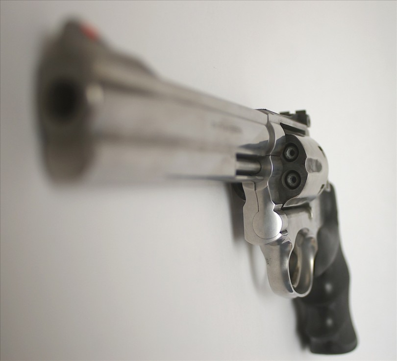 Smith & Wesson revolver | Credit: BK1BENNETT