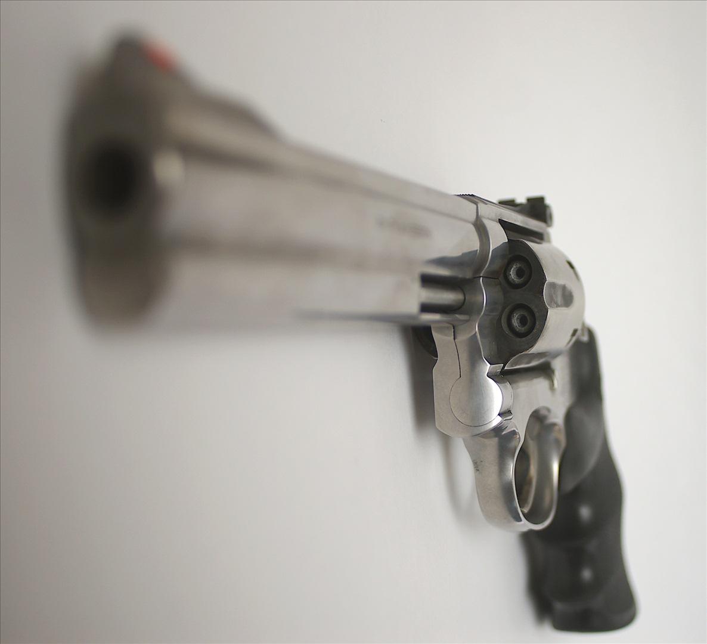 Smith & Wesson revolver   Credit: BK1BENNETT