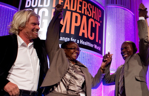 The Global Business Coalition's Business Action on Health Awards, which honor corporations for innovations in global health.   Credit: GBCHEALTH