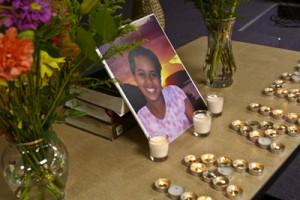A memorial for Hana | Credit: PHOTO COURTESY SEATTLE ETHIOPIAN COMMUNITY CENTER