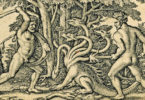 Hercules slaying the Hydra, which sprouted two heads for every one cut off.