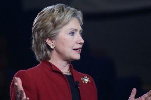 Hillary Clinton in Hampton, New Hampshire | Credit: MARC NOZELL