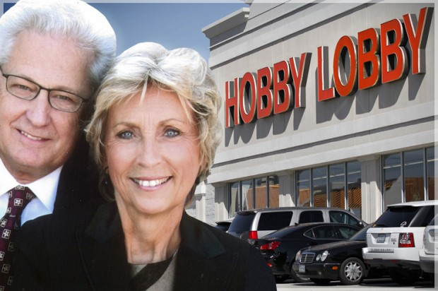 David and Barbara Green, co-founders of Hobby Lobby Stores   Credit: COLLAGE: SALON; PHOTOS: AP/HOBBY LOBBY/TONY GUTIERREZ