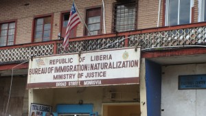 Immigration office in Liberia | Credit: COURTESY OF ABDULAI BAH