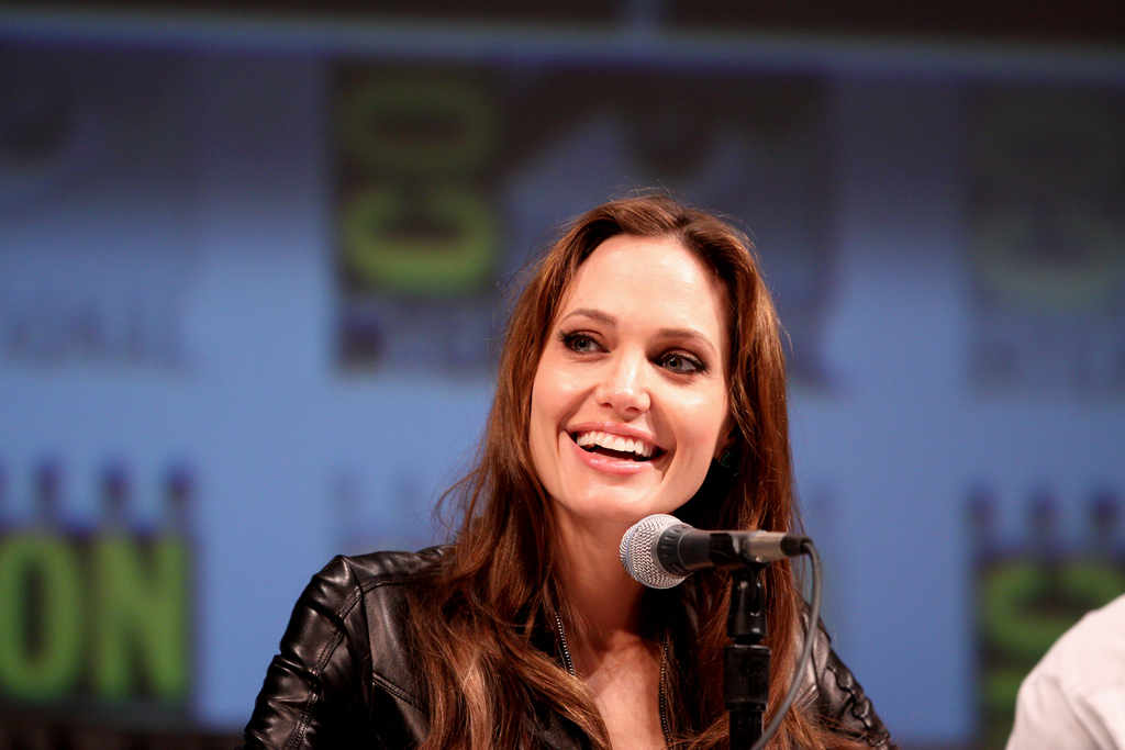 Angelina Jolie | Credit: PHOTO COURTESY OF FLICKR USER GAGE SKIDMORE