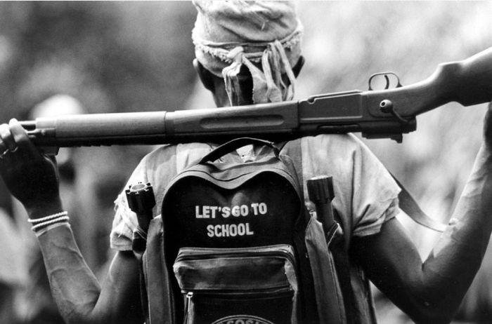 The border raids raise new fears that Liberian militias are back to using child soldiers, a practice thought to have ended with the cessation of the country's civil war in 2003.   Credit: COURTESY AMNESTY INTERNATIONAL