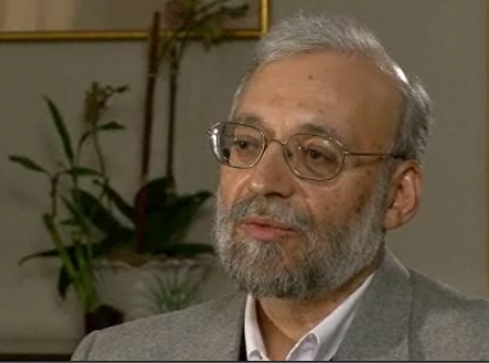 Mohammad-Javad Larijani, secretary-general of Iran's High Council for Human Rights   Credit: NBC