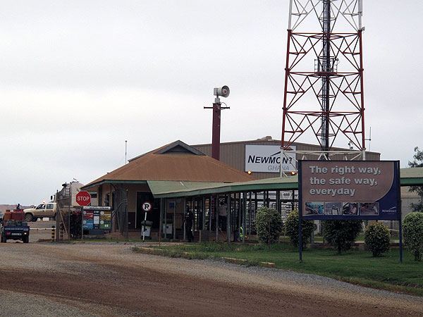 Newmont's mine in Ahafo, Ghana | Credit: ANNA BOIKO-WEYRAUCH