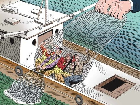 Is the government killing our fisheries? | Credit: COURTESY NEWSDAY/MARTIN KOZLOWSKI