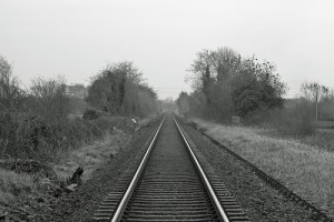 A railroad in Northern Ireland   Credit: DMODER101