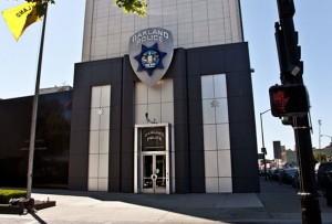 Oakland police headquarters in downtown Oakland, California   Credit: JORGE RIVAS/COLORLINES.COM