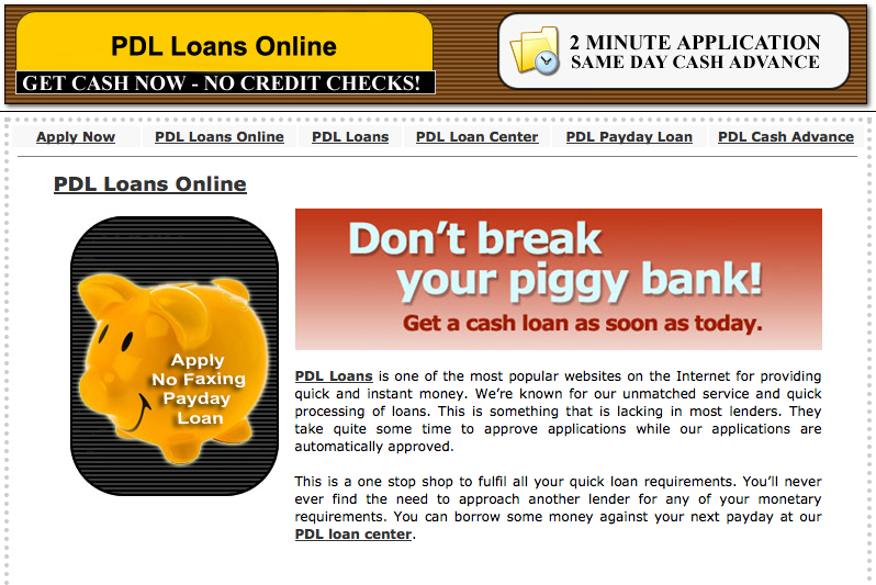 Illegal Payday Loans Thrive In Cyberspace Type Investigations