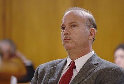 Scott Roeder at his sentencing for the murder of Kansas abortion provider Dr. George Tiller. | Credit: Jaime Oppenheimer/AP