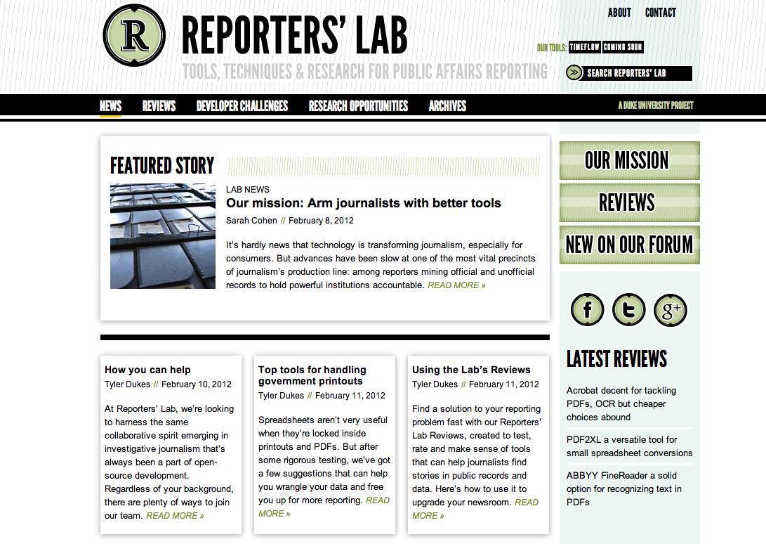 ReportersLab.org