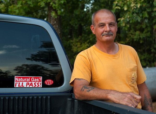 Dirk DeTurck near his home in Greenbrier, Arkansas. | Credit: COURTESY ALEX LEME/OXFORD AMERICAN