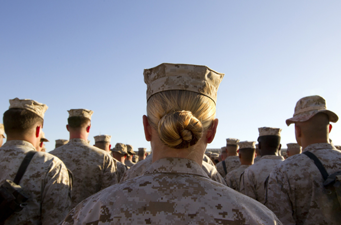 Sexual abuse happens in the US military at rates twice the national average, according to reports. | Credit: GALLO/GETTY