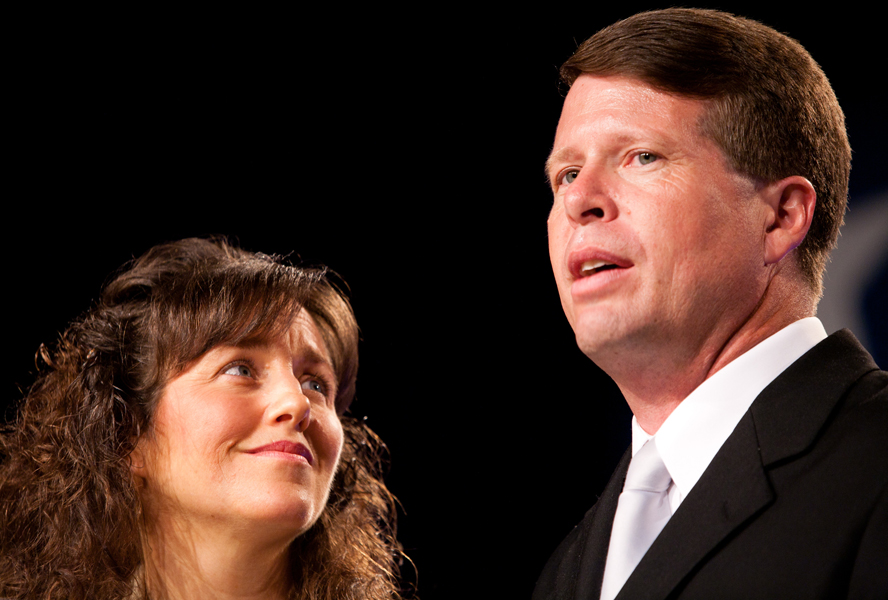 Michelle and Jim Bob Duggar at the Values Voter Summit on September 17, 2010 in Washington, DC. | Credit: BRENDAN HOFFMAN/GETTY IMAGES