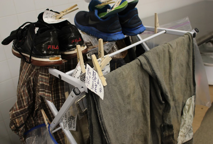 Clothing found on the bodies of unidentified migrants in Brooks County, Texas.