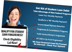 A screenshot from the Student Aid Center's homepage.