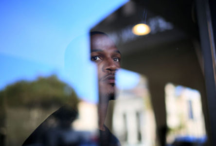 Aaron Harvey, a former documented gang member  on Tuesday, March 1, 2016 in San Diego, CA.