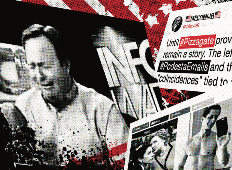 Alex Jones' InfoWars covered Pizzagate before and after the election.